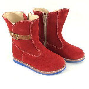 Elephantito Toddler Boys Boots Suede Western 8